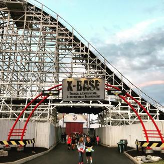 Image result for x-base kings island